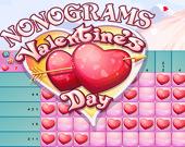 Нонограммы: День святого Валентина