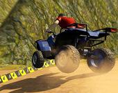 Квадроцикл: невозможные трюки на треке