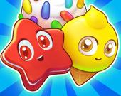 Загадочные конфеты: Головоломка три в ряд