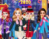 Принцессы: Новогодний сочельник