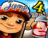 Серф в подземке: прыжки 4