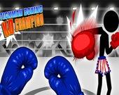 Стикмен боксирует с чемпионом