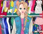 Модная одежда для куклы-принцессы
