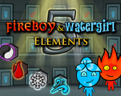 Огненный парень и Водяная девушка 5: Стихии