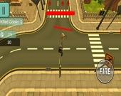 Сверху Вниз 3D: игра-стрелялка