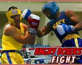 Схватка злых боксеров