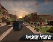 Симулятор автобуса в реальном городе