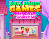 Игра Кукольный Дом: Дизайн и Украшение
