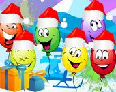 Лопни Рождественские шары
