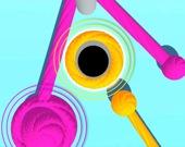 Цветная Веревка 3D