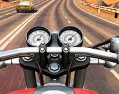 Мото-гонки - езда по трафику