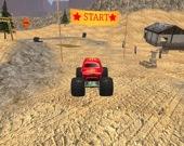 Дрифт-гонка Monster truck