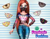 Модные маски в пандемию