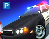 Парковка для полицейской машины США