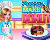Принцесса готовит пончики