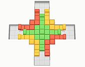 Столкновение блоков