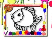 Раскраска: Рыбы