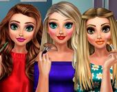 Супермодели: Сияющий макияж