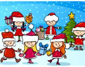 Рождество: Найди 5 Отличий
