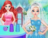 Принцессы: Свадебный салон