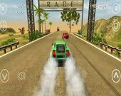 Автомобильные гонки по высокоскоростному шоссе