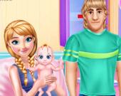 Беременная Анна и уход за ребенком