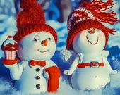 Пары Снеговиков