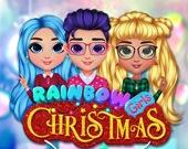 Рождественская вечеринка радужных девочек
