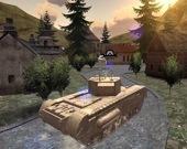 Вторая мировая - 1942 - бой танков