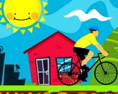 Велосипедисты - Пазл