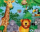 Король джунглей - Пазл