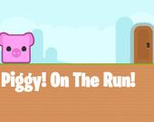 Свинка на бегу