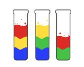 Сортировка цветной воды