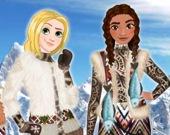 Образ эскимоса для принцесс