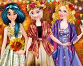 Осенний бал в колледже принцесс