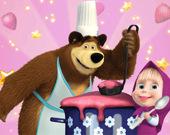 Маша и медведь: Готовим еду