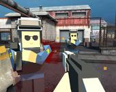 Пиксельная битва 3d.ио