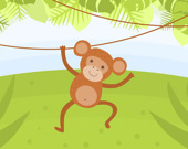 Раскраски забавные обезьяны