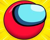 Красный мяч-герой