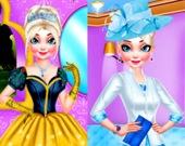 Одежда и макияж для Королевы