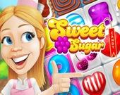 Сахарные конфеты - 3 в ряд