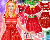 Рождественский наряд для принцессы