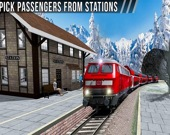 Железнодорожная Станция: Пассажирский Поезд