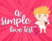 Простой любовный тест