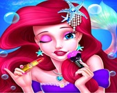 Салон макияжа для принцессы Русалочки
