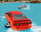 Автогонки по водным горкам