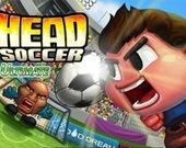 Потрясный футбол головами