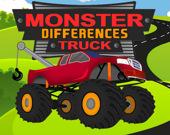Найди отличия: Монстр-грузовик