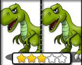 Найди отличия: Динозавры