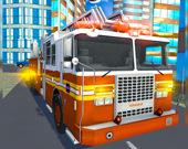 Симулятор пожарной машины